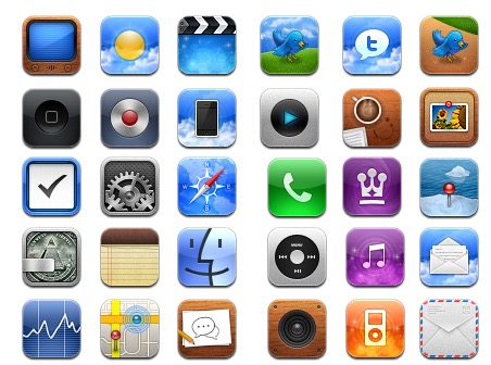 Apple iPhone App Screen
