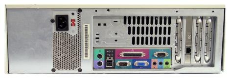 Desktop computer ports circa 206