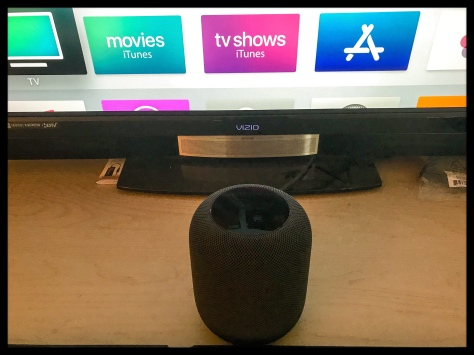 Visio TV and Apple HomePod